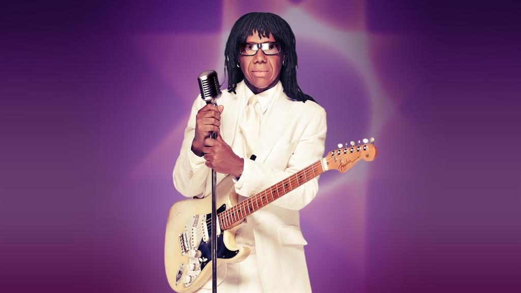 .Sounds good: Nile Rodgers will be among the judges who decide which bands record at Abbey Road.