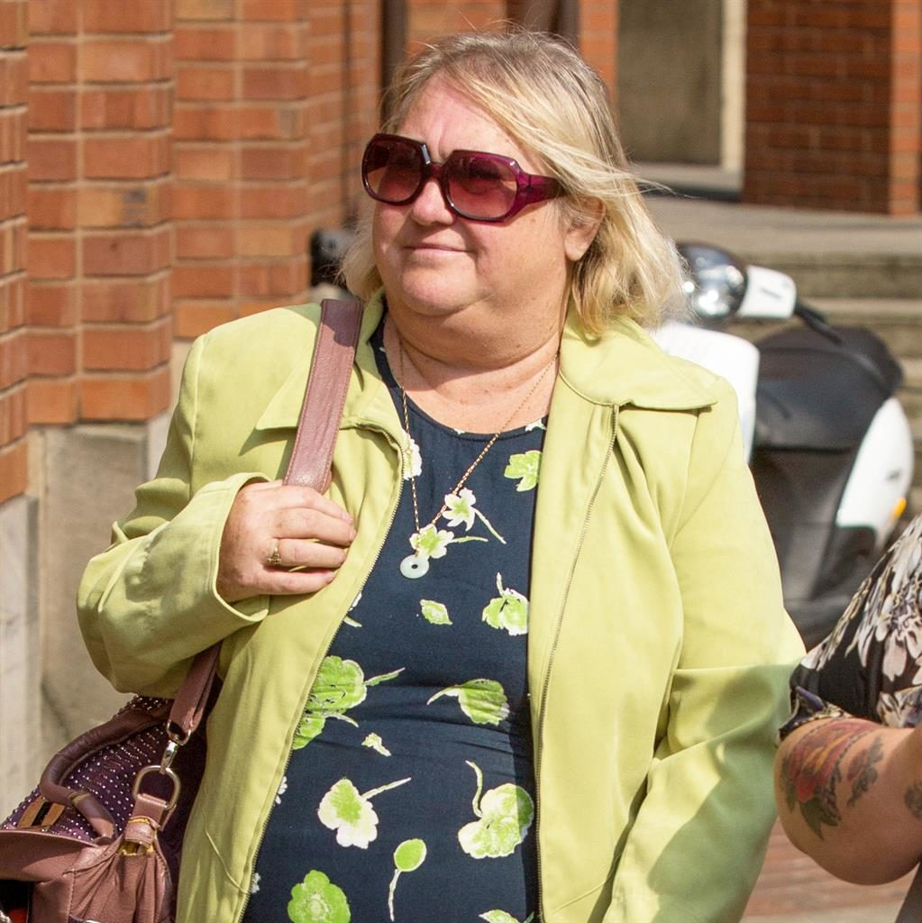 'Bought two houses': Carer Julie Sayles denies fraud and faking will PICTURE: SWNS