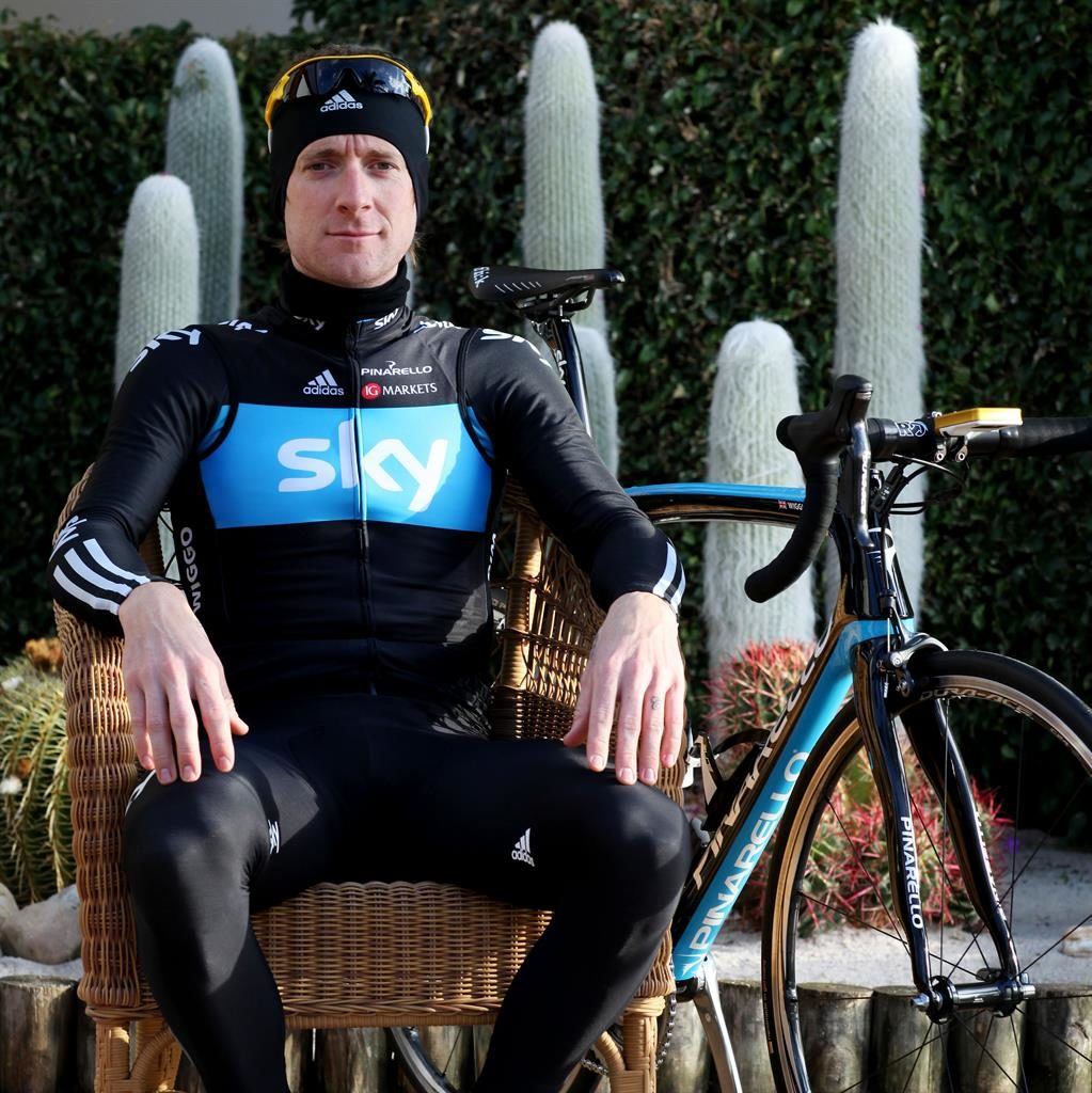 'Crossed a line': The former Team Sky rider Sir Bradley Wiggins is named in the report by MPs PICTURES: CLARA MOLDEN/AP