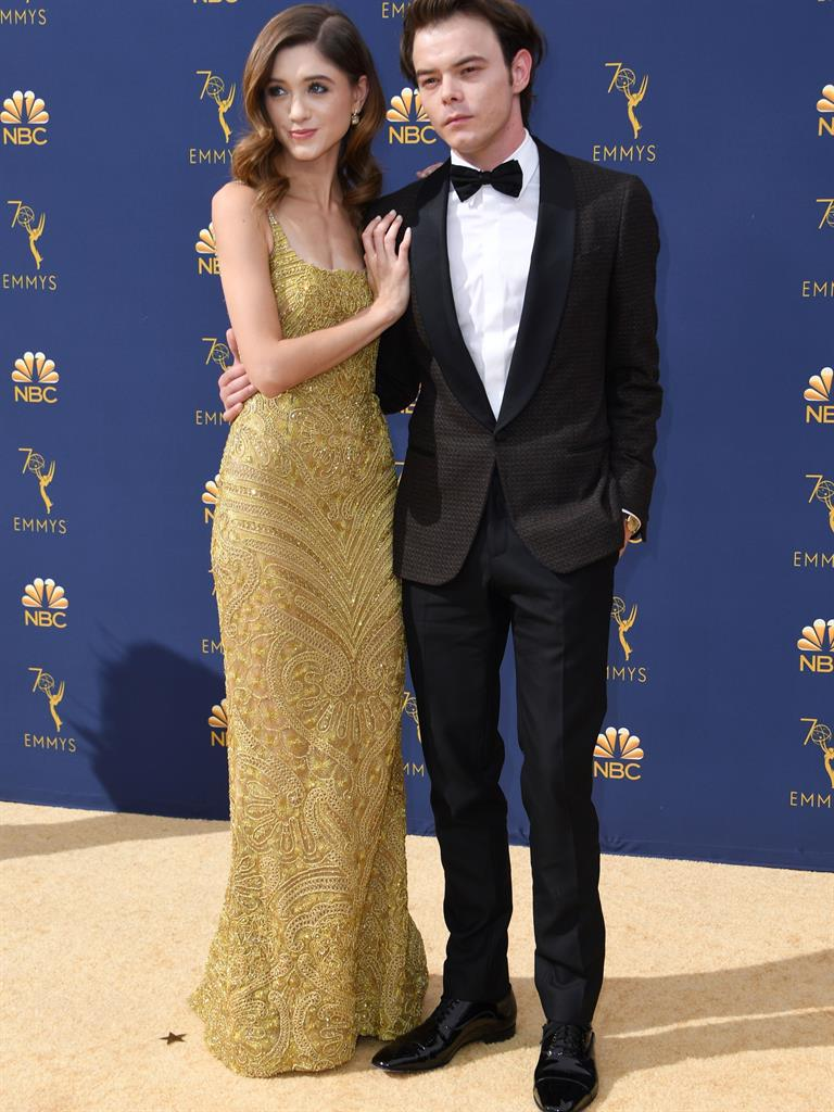 It's a date! Celeb couples pack on PDAs in red carpet show ...