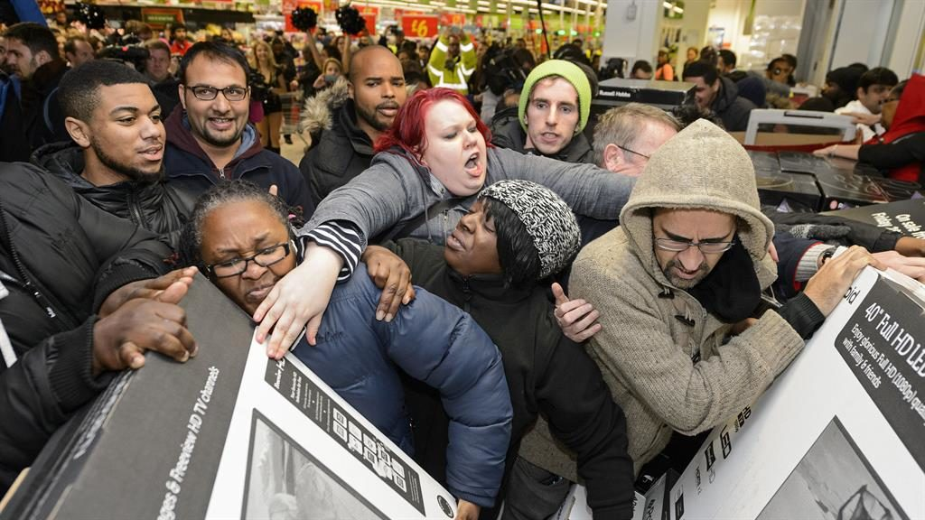 Scrum-thing good: Laser focus is needed for both Black Friday deals and Brexit PICTURE: REX