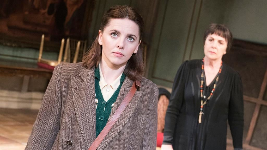 Bitter divide: Ophelia Lovibond and Penelope Wilton are opposite in almost every way PICTURE: ALASTAIR MUIR/REX/SHUTTERSTOCK