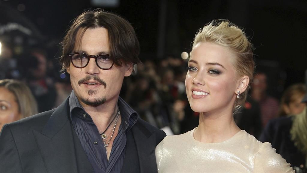 Legal fight: Depp with Heard PICTURE: AP