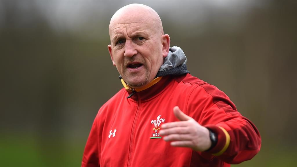 All eyes on Edwards: The defence coach has rejected a contract offer to remain with Wales beyond this year's World Cup PICTURE: REX