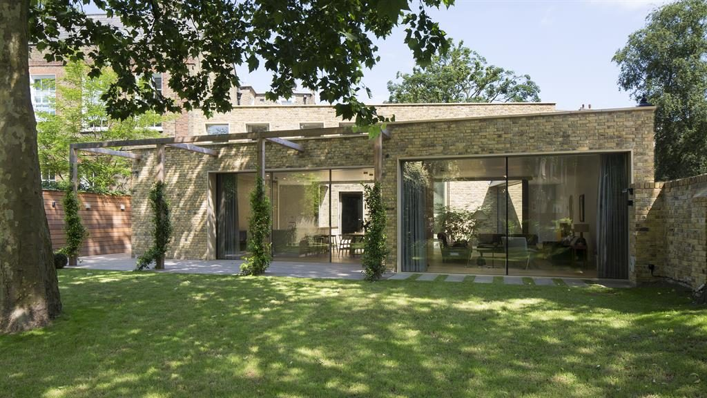 Green and pleasant: Judges loved Alwyne Place's clever use of space and light