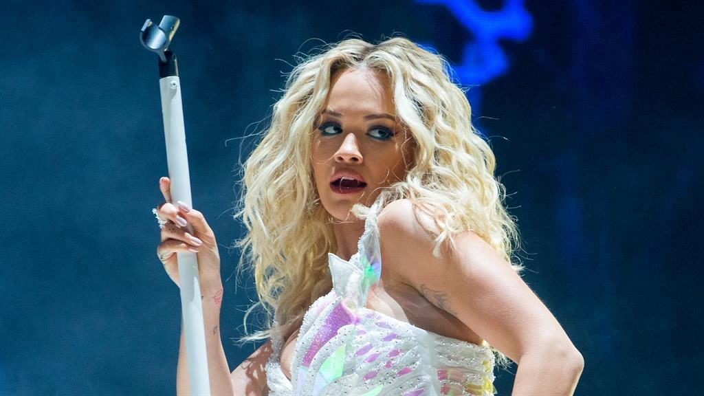 Adorable: Rita wins the war for stage supremacy PICTURE: GETTY