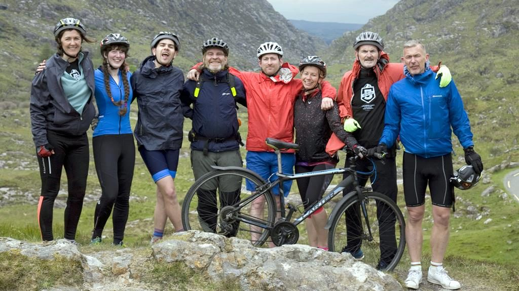 Saddle up: The 56-mile cycle tour crosses Ireland's highest mountain passes