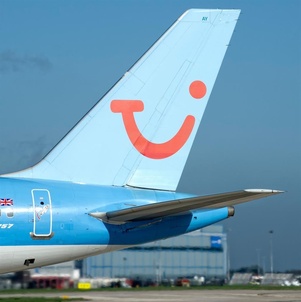 Flying high: A Tui Airways plane