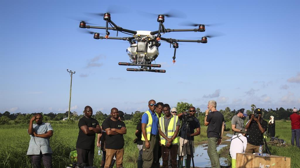 No-fly zone: Zanzibar drone pilots PICTURE: AP