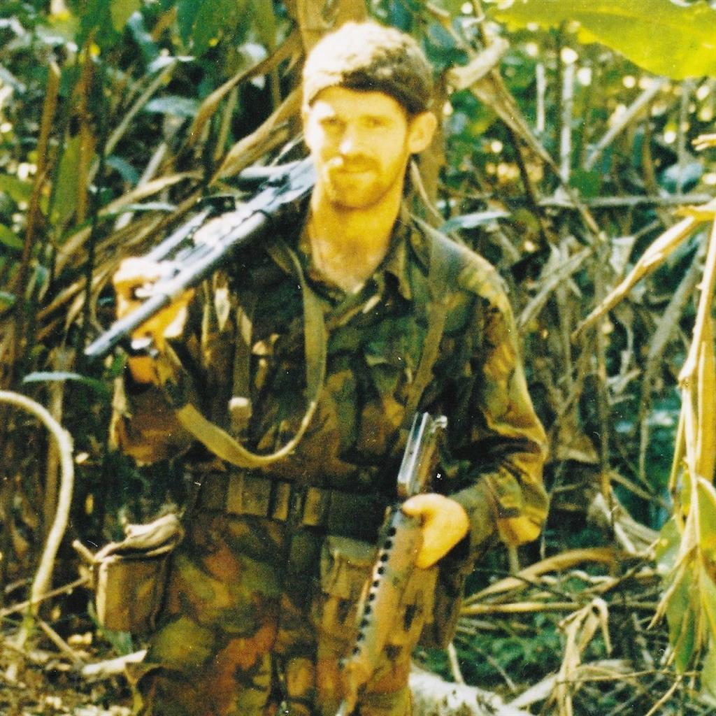 Elite force: Sgt Ivor Pape was an SAS member from 1979 to 1990 PICS: BNPS