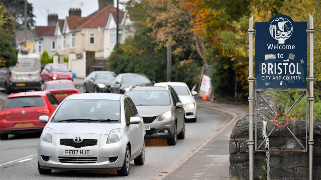 Clean air we go: Bristol is planning to introduce Britain's first diesel car ban PICTURE: SWNS