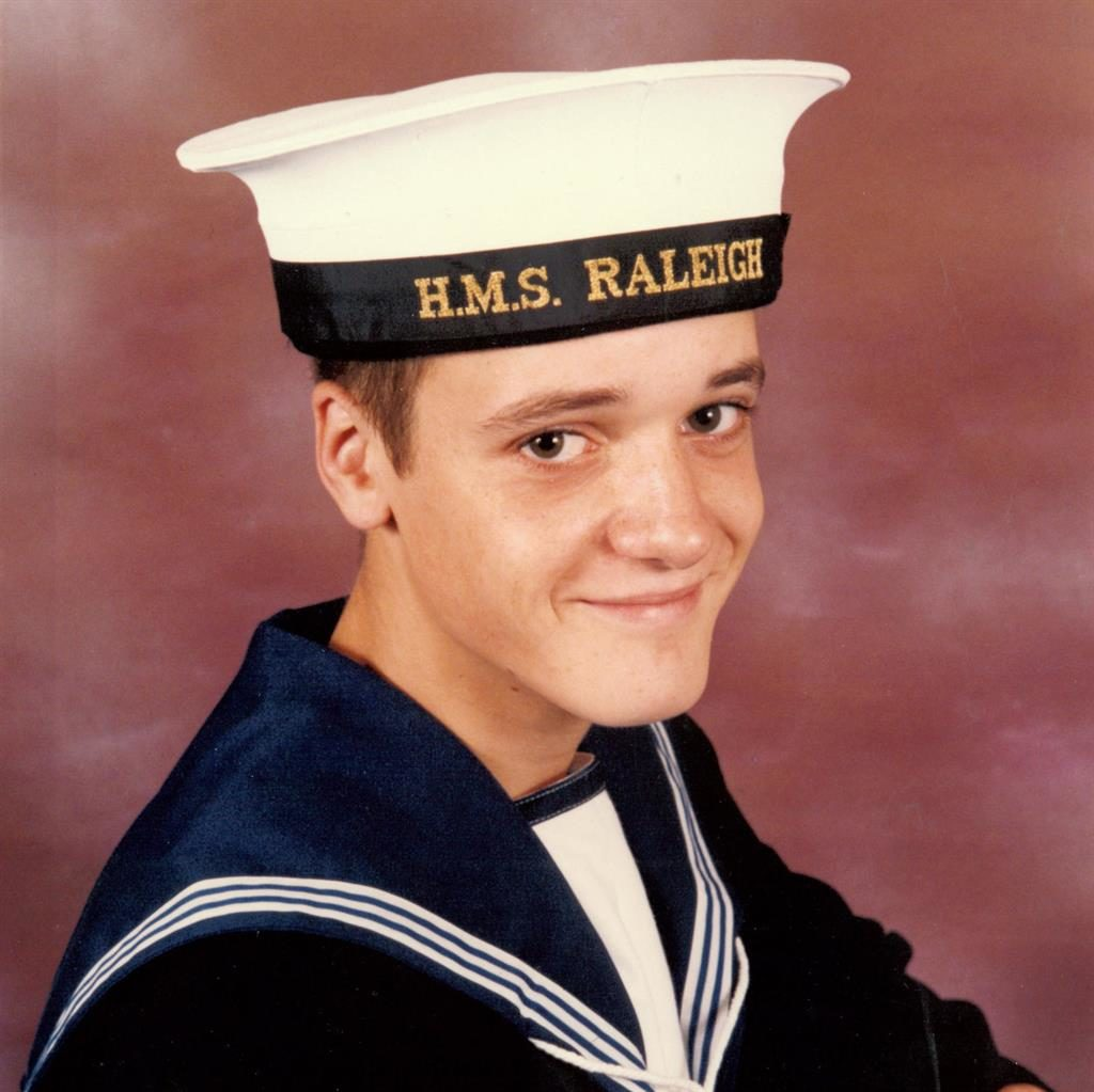 Disappeared: Naval rating Simon Parkes was last seen in December 1986