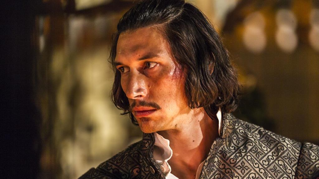 Adam Driver no filme The Man who Killed Don Quixote