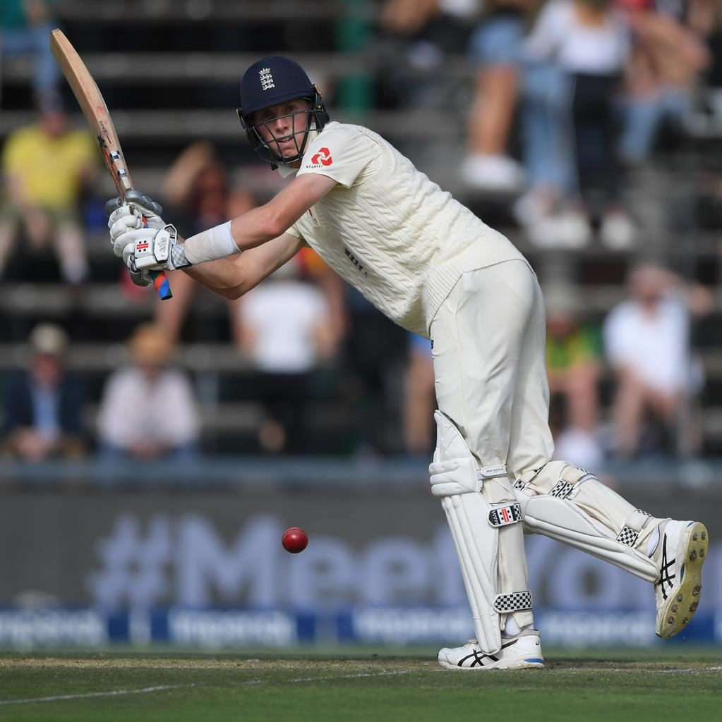 High achiever: Zac Crawley picks up runs during day one of the fourth Test between South Africa and England in Johannesburg PICTURES: GETTY