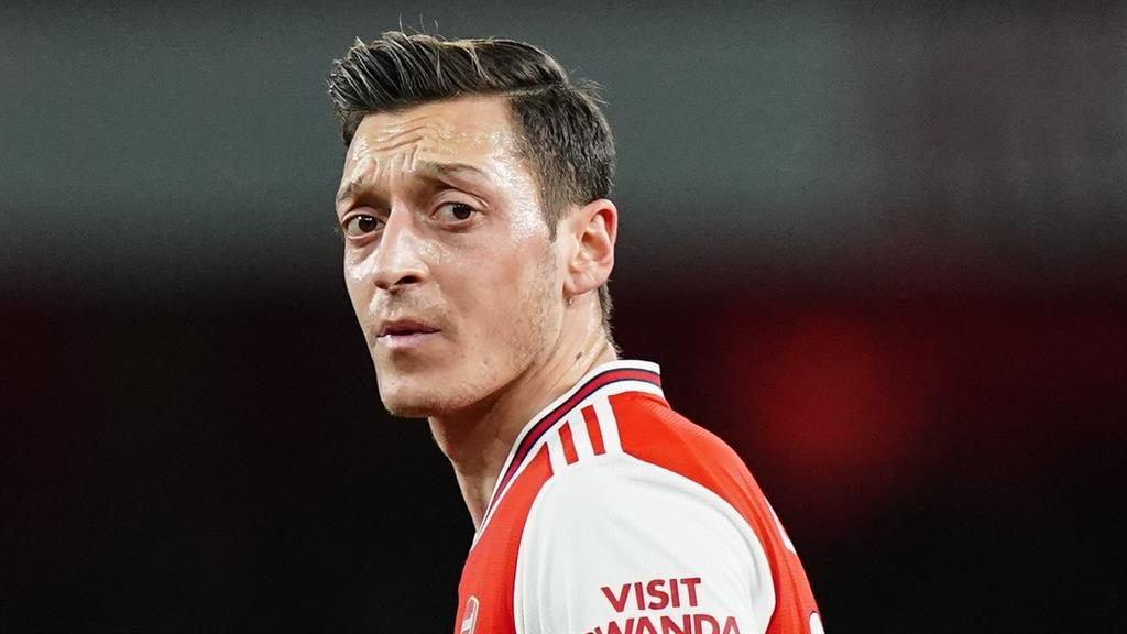 Increased security: Mesut Ozil, whose car had been attacked PICTURE: REX
