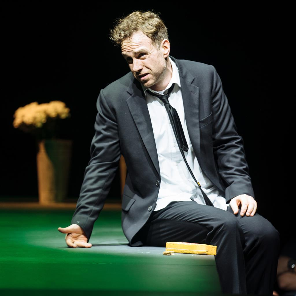 In turmoil: Rafe Spall as Michael PICTURES: HELEN MURRAY