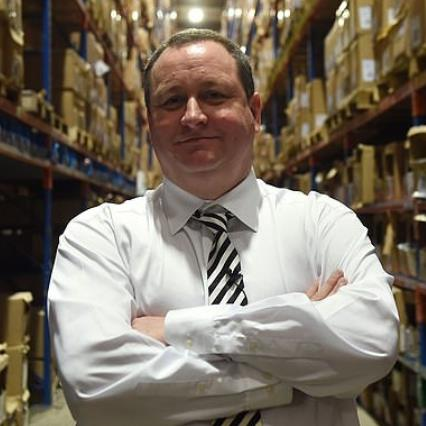 Frasers Group owner: Mike Ashley