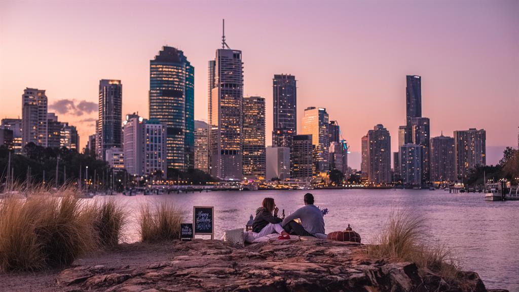 Bonza view, mate! Picnicking in Brisbane