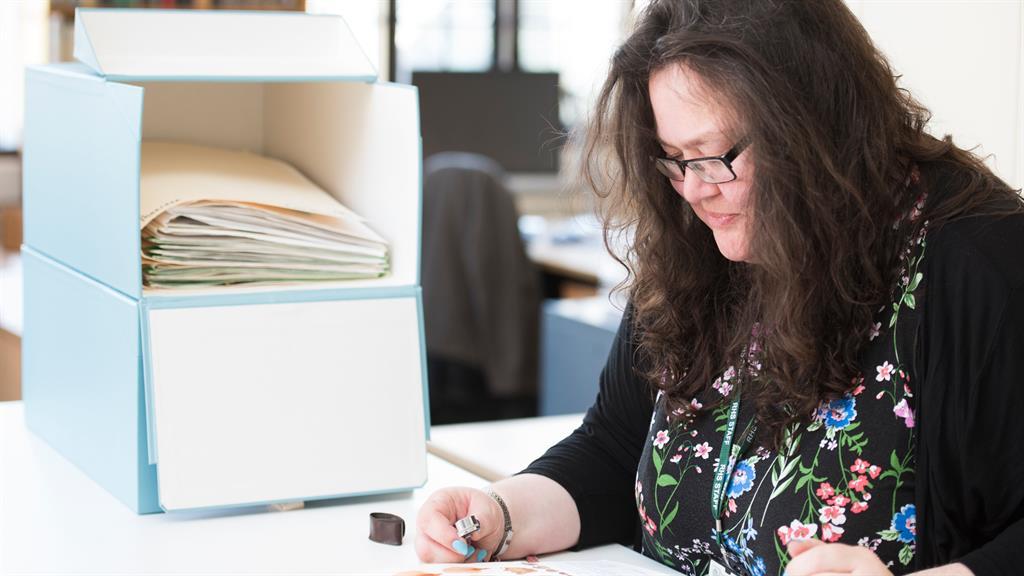 Flower power: Yvette Harvey, keeper of the RHS Herbarium