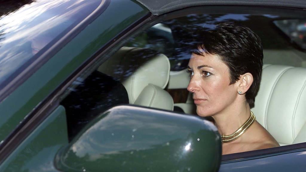 In custody: Ghislaine Maxwell, who was arrested last month PICTURE: CHRIS ISON/PA