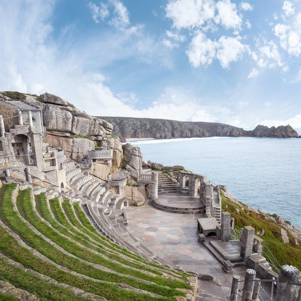 Stories to tell: Minack Theatre will be hosting storytelling sessions from its stunning coastal location