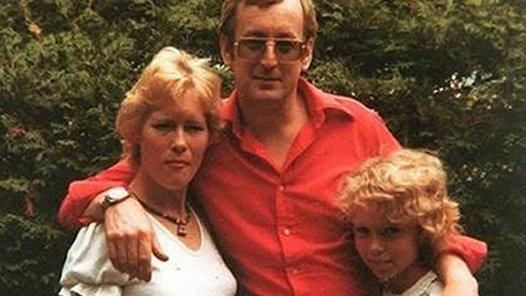 Killer: Russell Causley, with wife Carole and daughter Sam – Neil Gillingham's mother PICTURE: PA
