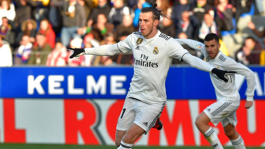 Euro star: Bale has won four European Cups with Real Madrid since moving to La Liga in 2013 PICTURE: AFP