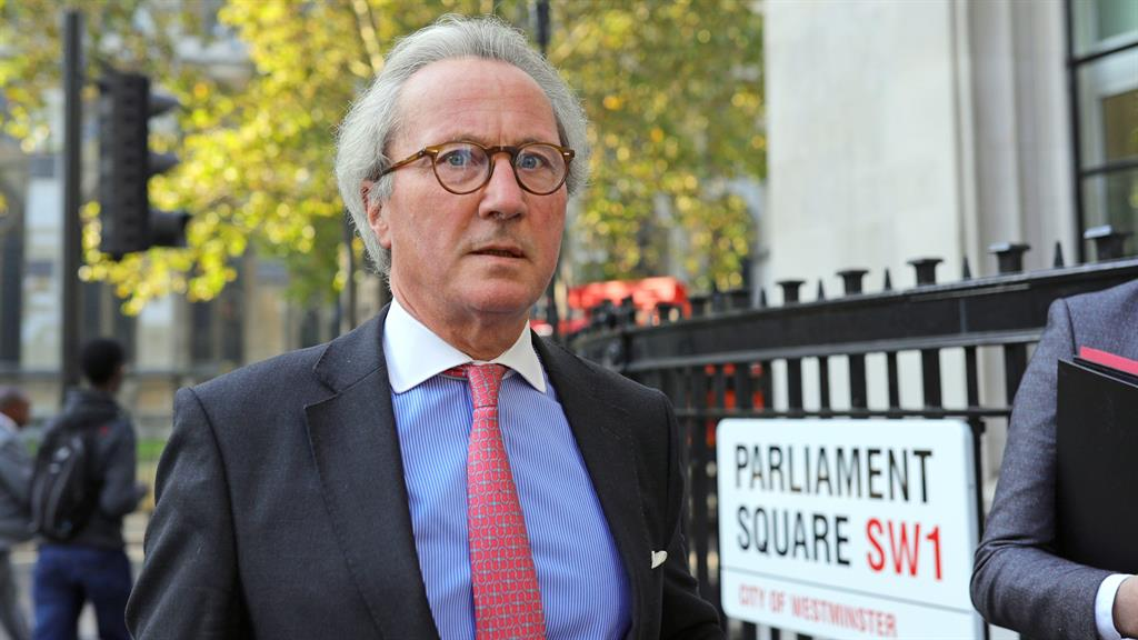 Resignation: Lord Keen PICTURE: PA
