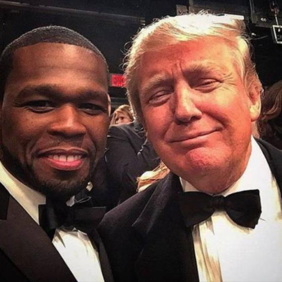 Vote: 50 Cent and Trump