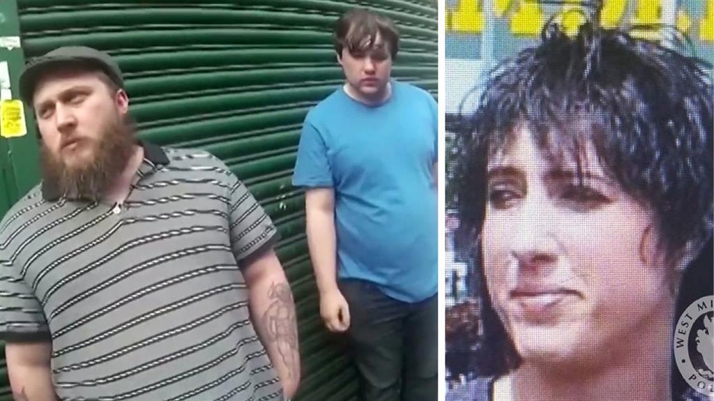 Pent-up fantasy': Maynard-Ellis (left) and Leesley (centre) murdered Julia Rawson