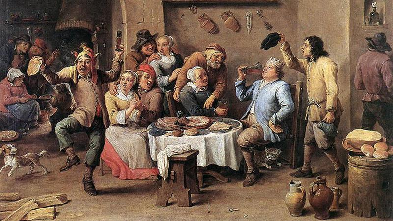 Christmas in 1647 cancelled: The usual drunken merriment was banned PICTURE: WIKIMEDIA