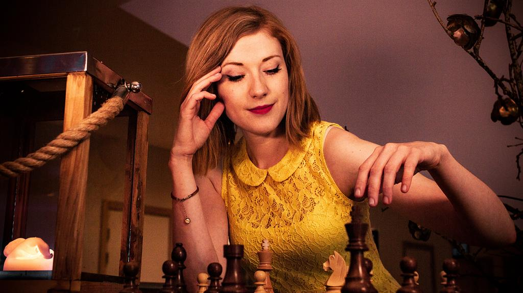 No rook-y errors: Anna Rudolf says Netflix show has boosted her online chess following PICTURES: SWNS