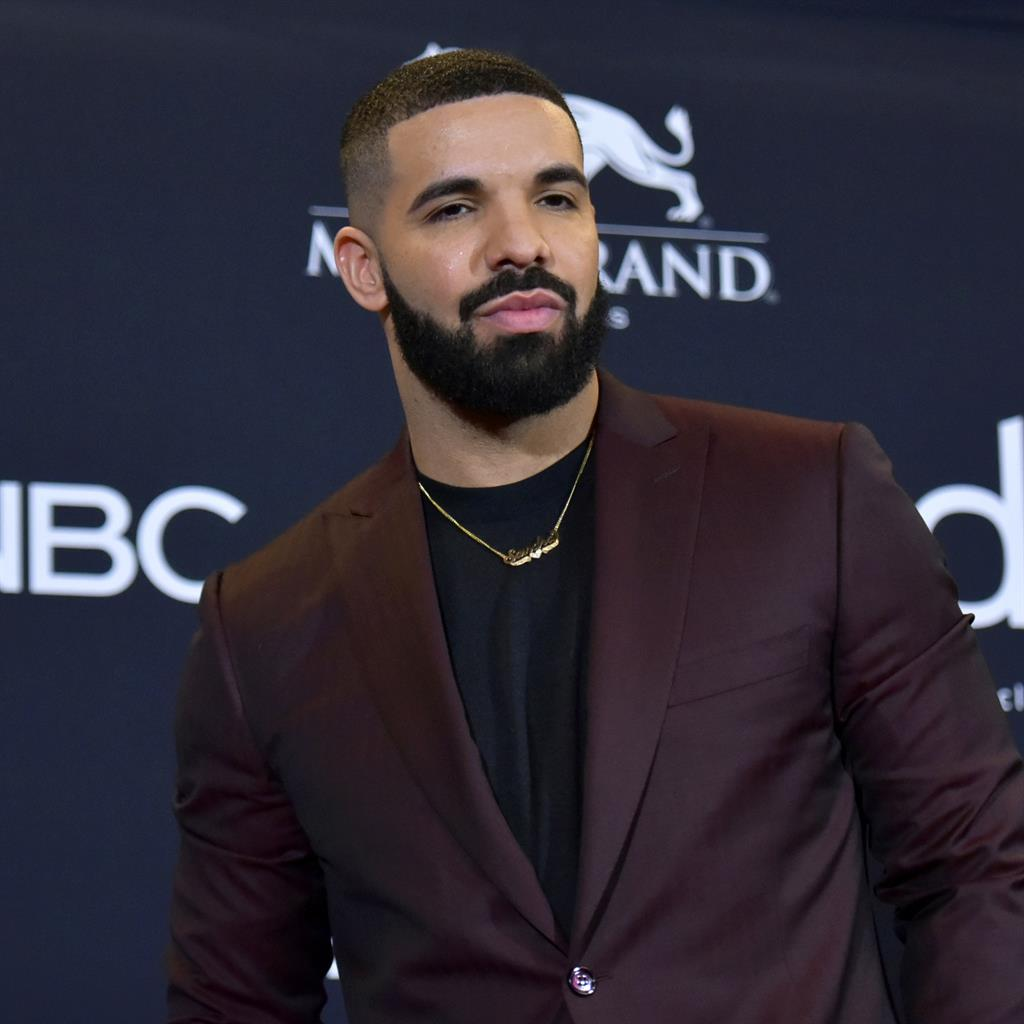 Megastars: Drake and Juice WRLD (below) PICTURES: REX/AP