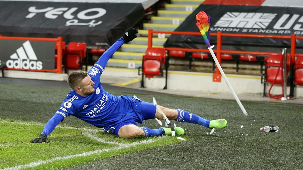 Jamie Vardy Clinches Leicester's Win At Sheffield United