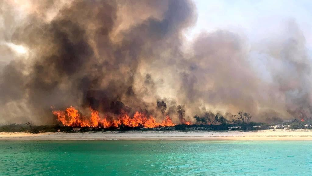 Happy Valley evacuated as Fraser Island fire rages on