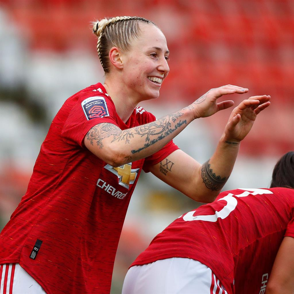 Manchester United Women march on with WSL rout of Bristol City