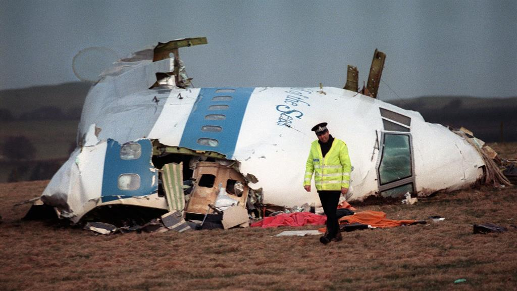 'Third conspirator' charged by U.S. for Lockerbie disaster