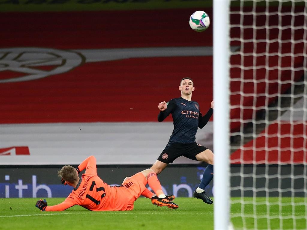 Phil your boots Foden nets City's third while Jesus enjoys his early strike