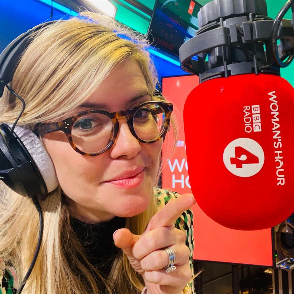 Host: Emma Barnett on Woman's Hour PICTURE: BBC
