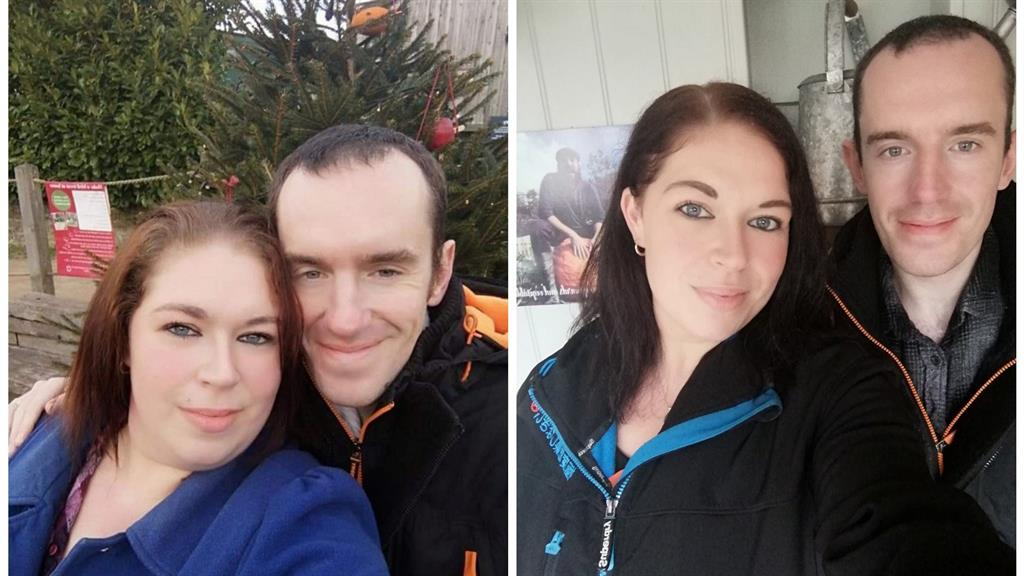 Big change: Sarah and Dan before and after PICTURES: SWNS