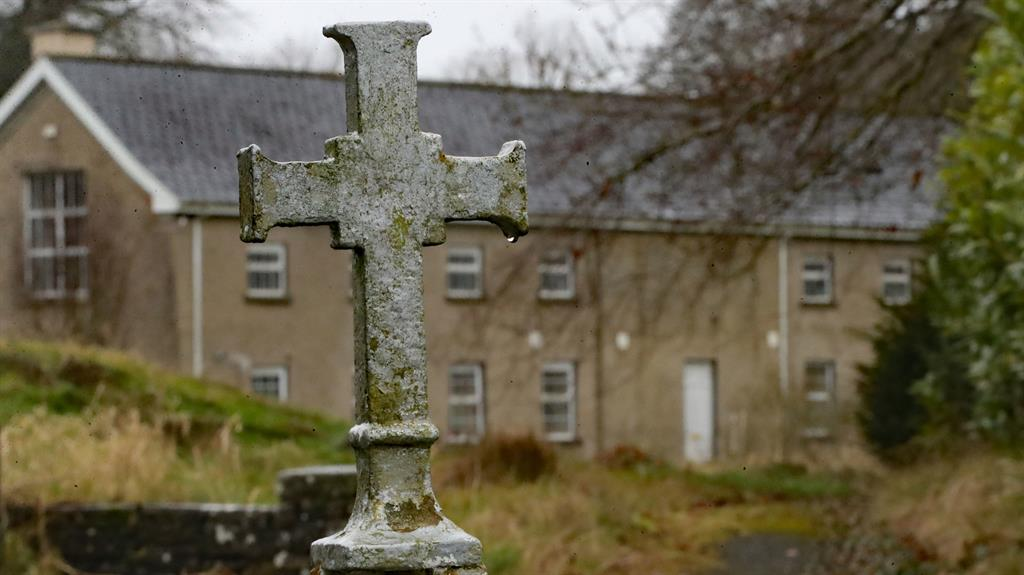 Deadly: The Sean Ross Abbey home in Roscrea, where 1,000 children died PICTURE: PA