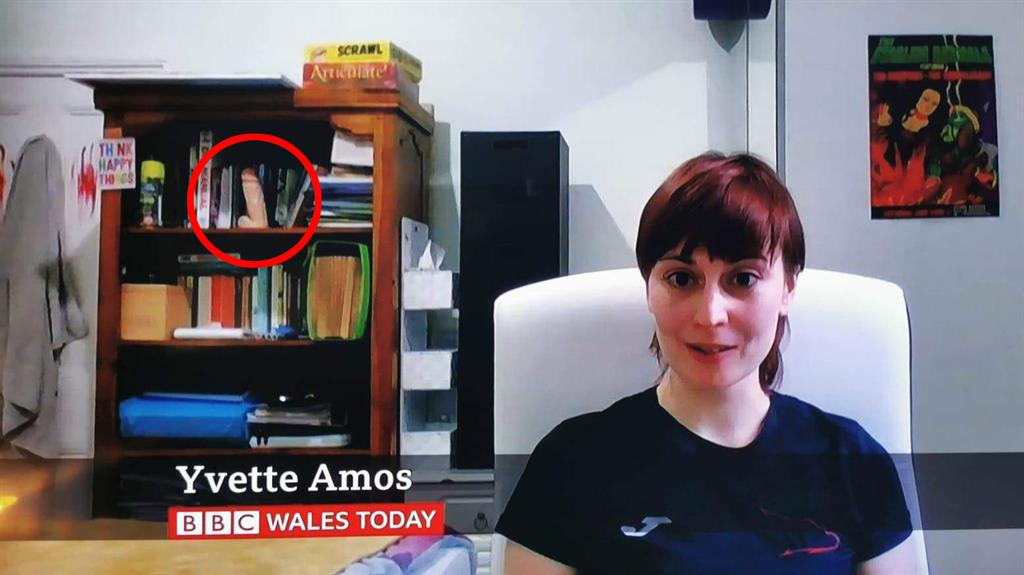 BBC guest goes viral after viewers spot X-rated detail
