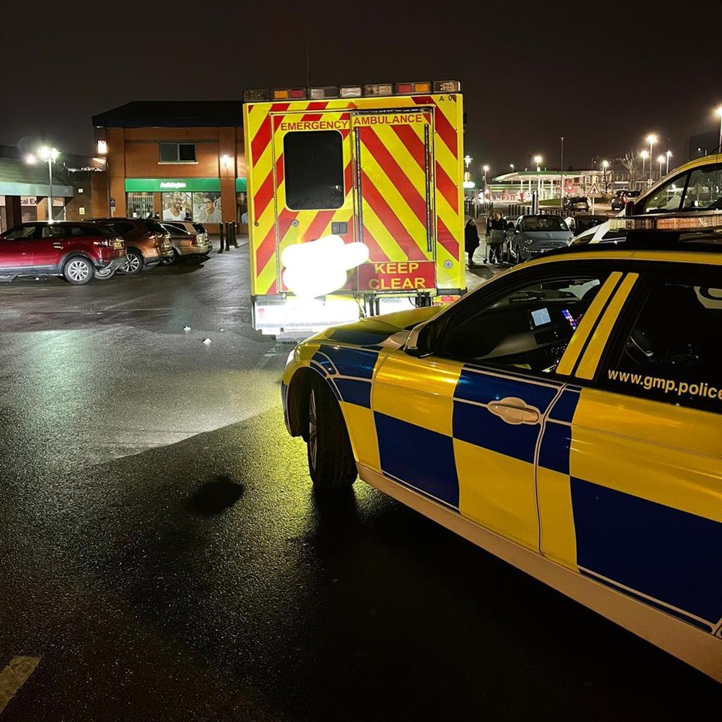 Disqualified driver caught doing supermarket shop in second-hand ambulance