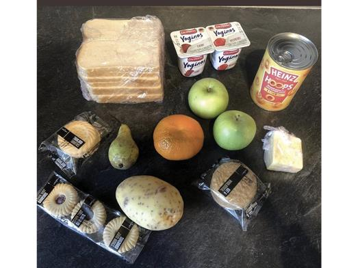 Photos of free school meal packages in the United Kingdom  spark outrage online